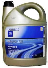 масло GM Dexos2 LongLife 5W-30 5л