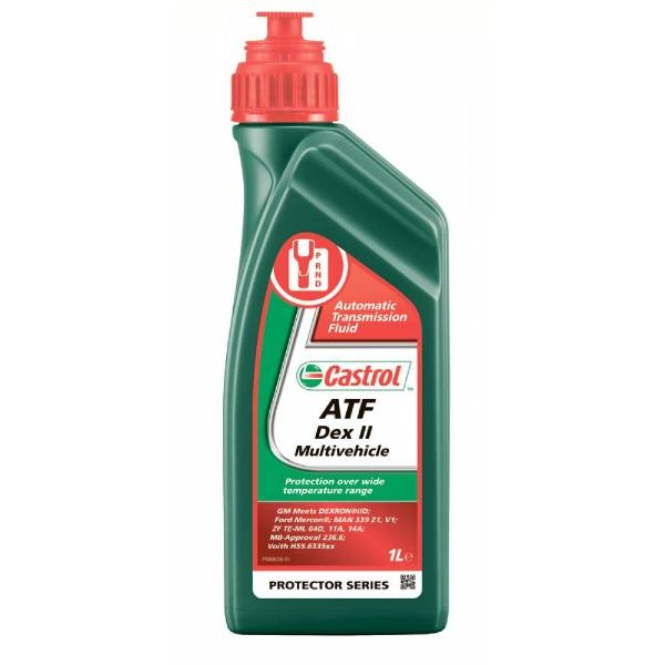 масло Castrol ATF Dex II Multivehicle 1л